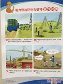 电力设施防外力破坏宣传挂图 6张