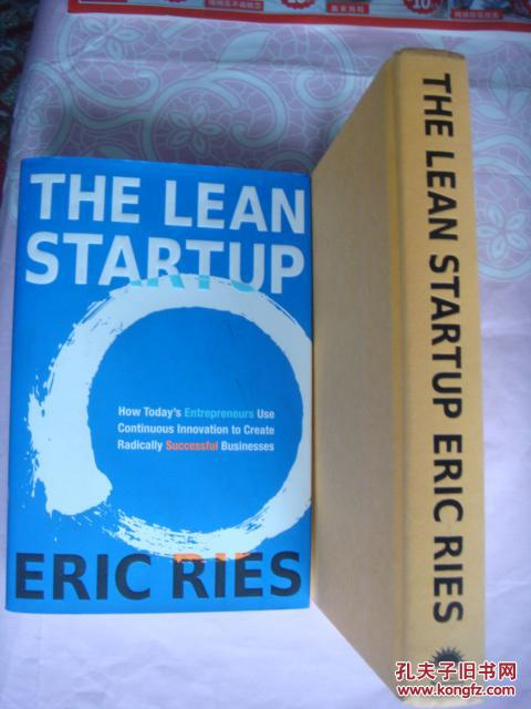 THE LEAN STARTUP: Use Continuous Innovation to Create Radically Successful Businesses 全新精装带书衣