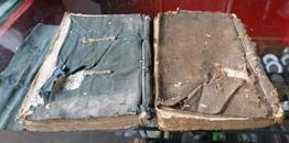 两巨册江西民间风水地理师傅一生总结风水精华一本地理山刑图。一本造葬24山等内容