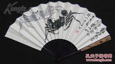 中国书法家协会会员/国家一级书法师@许@墨@双面书画成扇一一其乐如何……他的书法自然天成,画又灵气十足,其作品贵在艺术风格及创作心境的真诚……