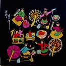 【独家特惠】中国书画家协会理事、陕西省美协会员、一级画家陕西户县著名农民画家刘@沣@涛精彩力作2,他的父亲是户县农民画的创始人之一农民画家刘群汉。他不断创新,多次在全国展览中获奖,并被国外机构收藏……