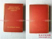 英文原版-INDISCREET LETTERS FROM PEKING |庚子使馆被围记,义和团时期的北京,八国联军侵华导火索