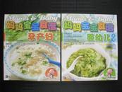 妈妈宝宝食谱:孕产妇+婴幼儿(湖南美术出版社1版1印)彩版2册全