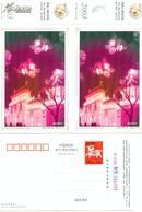 2003年(羊年)贺年有奖邮资明信片--哈尔滨冰灯