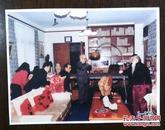 张大千台湾摩耶精舍客厅彩色照片图片1幅