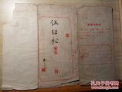 1965-166年学生成绩通知书
