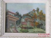 李文剑  油画作品三幅  尺寸39*29厘米