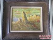 lizhangwen 油画作品1幅 尺寸39*29厘米
