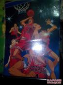怀旧动漫动画软硬垫板之篮球飞人灌篮高手 正反面 有硬质塑料保护套