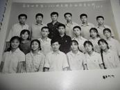 老照片;南昌四中高二【2】团支部全体团员合影--1977.7,大小看实际图片