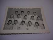 老照片;南昌四中高二【3】班全体团员留念--1975.7.20--大小看实际图片