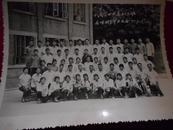 老照片;南昌四中高二【3】班全体同学毕业留念1975.7.15--大小看实际图片