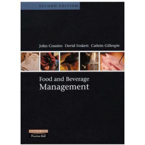 特价1  Food and Beverage Management    Cousins,JohnA&Foskett,David&Gillespie,Cailein著   9780582452718