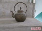 民国铜酒壶