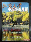北京文学 中篇小说月报 第十一期、七期全订本