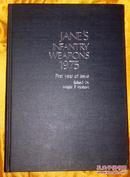 英文原版书:1975年常规武器年鉴JANE'S INFANTRY WEAPONS1975