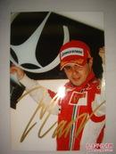 保真签名:F1赛车手 马萨 Felippe Massa(二)