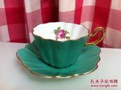 英格兰Royal Stuart骨瓷( bone china )杯子和碟子