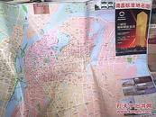南昌标准地名图2011最新版.对开双面图