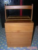 包老包真  《高档紫砂茶叶罐》 外带精致竹盒,十分少见