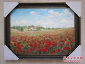 俄罗斯手绘风景油画80*60厘米(手绘油画原作)
