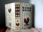 现代汉语辨析词典