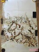 【铁牍精舍】【名家版画】著名版画家张岚军2006年版画作品一件