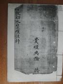 道教手抄本:清微勅水禁坛法科[有符咒]