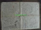 民国地图43【1945年】湖北省襄阳县地形图~有标记