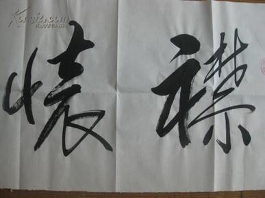名人字画:中国书画家协会常任理事宋尚蔚大师书法 襟怀和雅
