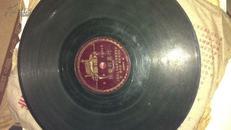 50年代黑胶木唱片(快乐的农村)AB两面