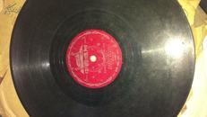 50年代黑胶木唱片(黄河大合唱)AB两面