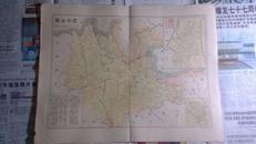 百年民国地图 《云南省道县地图》