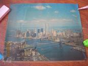 美国双子星摩天大楼画纸------1张(货号762)