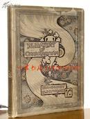 """1886年""""Elihu Vedder""""版《鲁拜集》——101首四行诗+54幅单面整版照相版画 16开 32x24cm"""