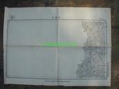 民国地图59【1944年】湖北省来凤县四川省西阳县安抚司地形图
