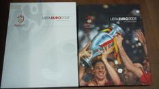 欧足联官方原版足球画册 2008欧洲杯限量版 全彩足球特刊 足球周刊赛后 包邮快递