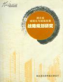 湖北省城镇化与城镇发展战略规划研究(12开厚册)