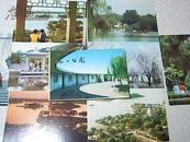 明信片~~~~天津水上公园(8张)1980年一版一印