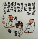 【佳作典藏】 中国美协会员 中国国际书画艺术研究会工艺美术大师@三@羊女士 精彩佳作 绝对包真