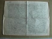 民国地图: 京山县地形图 [湖北省京山县]