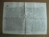 民国地图: 淅川县地形图 [湖北省郧县均县 河南省淅川县]