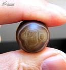 天然奇石缠丝玛瑙珠子象形图案圆珠串饰配件挂件精品收藏品:稚嫩