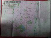 长春市区交通图1990年8月第一版