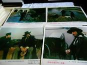 老电影海报 罗马尼亚约50--60年代老经典电影【神秘的黄玫瑰续集 全8张,规格高27,宽31】孔网孤本