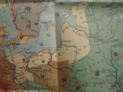 罗马共和国图  公元前第三至第一世纪【1954年1月4版】