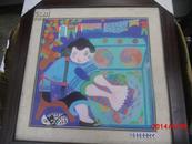 南京六和冶山镇四合农民画