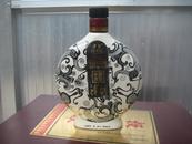 老酒瓶 津酒酒瓶 三凤呈祥图案 500ml 40%vol 造型奇特 看图