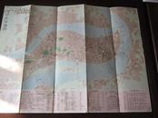 1981年版82年印  重庆市交通图