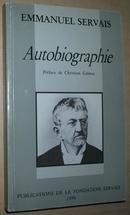 ◆法语原版自传 Emmanuel Servais Autobiographie